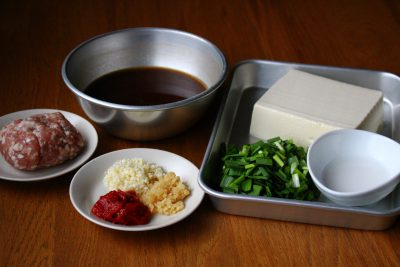 大人の麻婆豆腐
