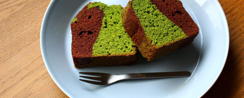 ほうれん草とココアのパウンドケーキ