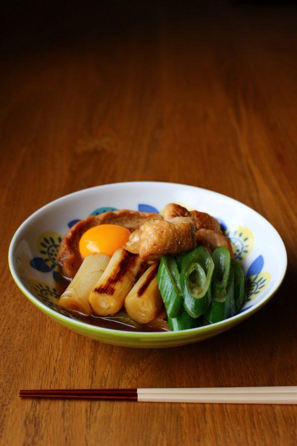 鶏肉と車麩のすき煮