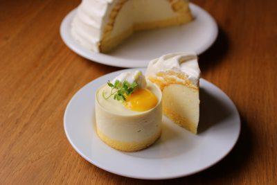 レモンヨーグルトムースケーキ
