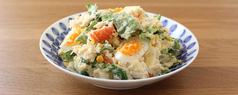 卵とチキンのポテトサラダ