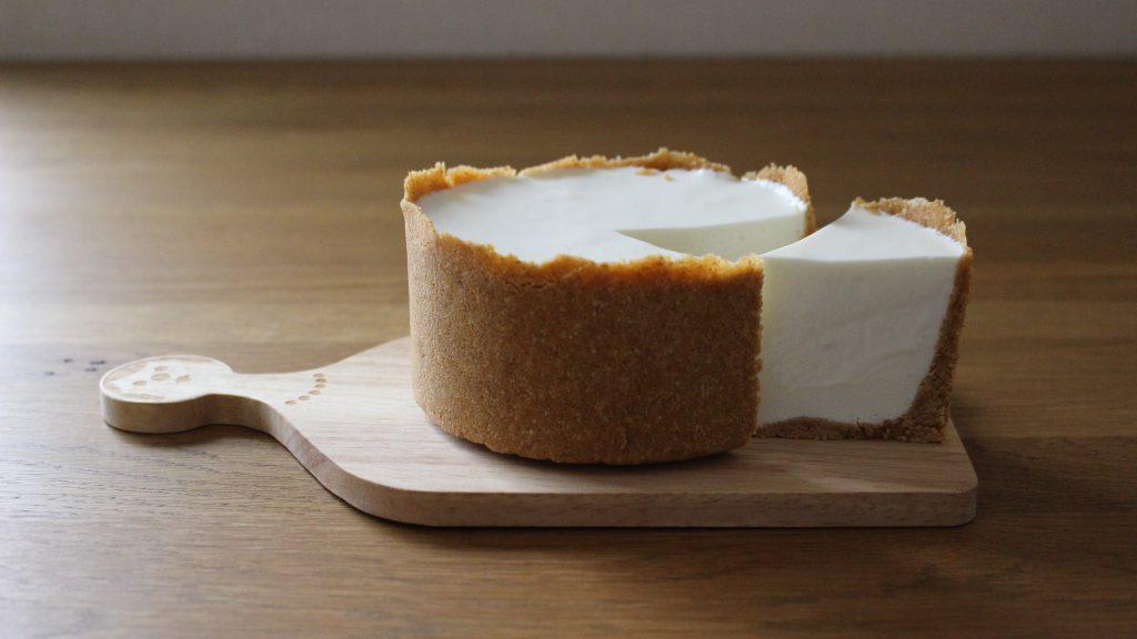 ヨーグルトレアチーズケーキ