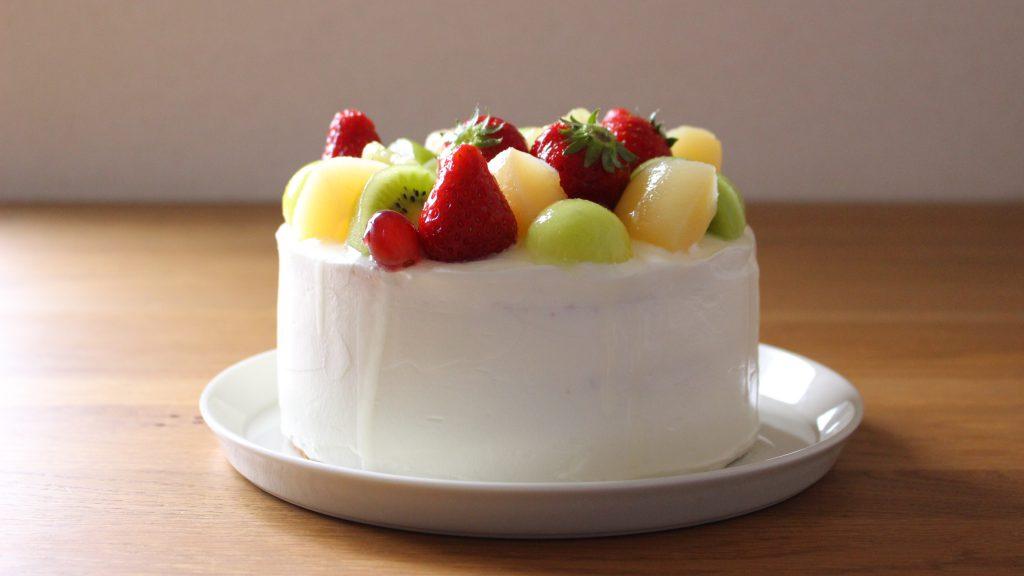 フルーツデコレーションケーキ