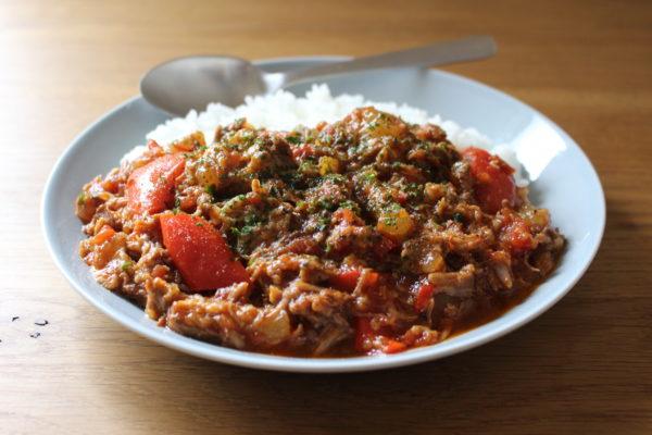 豚軟骨のトマト煮