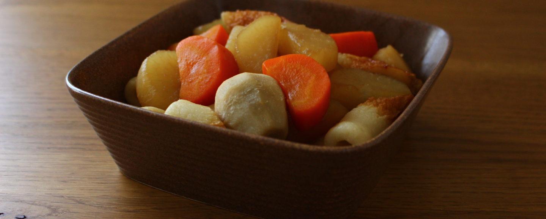 ちくわと根菜の煮物