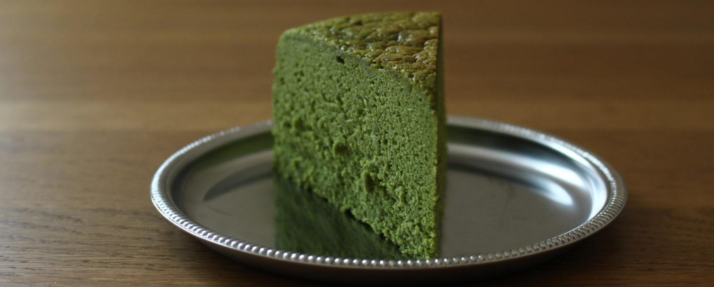 濃厚抹茶ケーキ