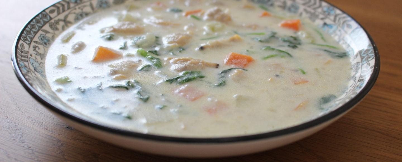 あさりのミルクスープ