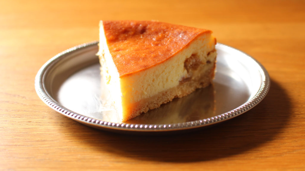 ベイクドチーズケーキ