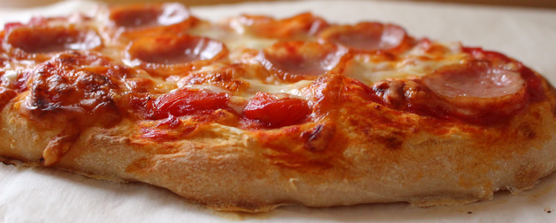 おうちピザ