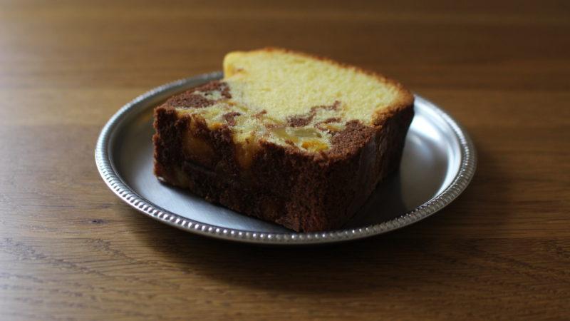 トロピカルマーブルケーキ