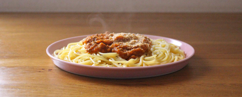 ミートソーススパゲッティ