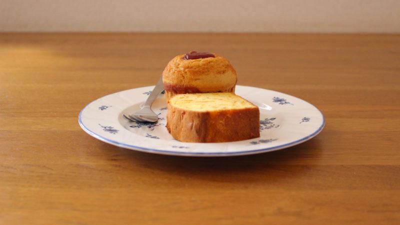 伊予柑ケーキとマフィン