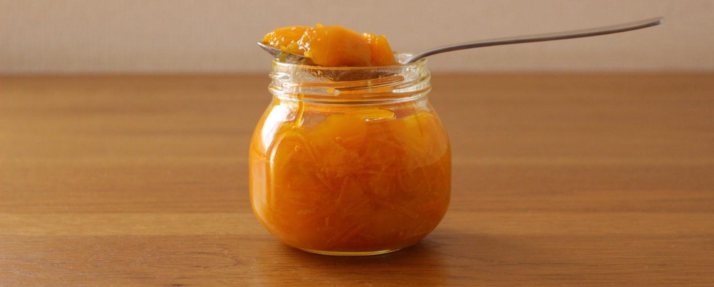マンゴーとオレンジのジャム