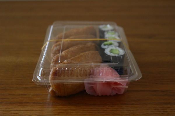 かっぱ巻きといなり寿司