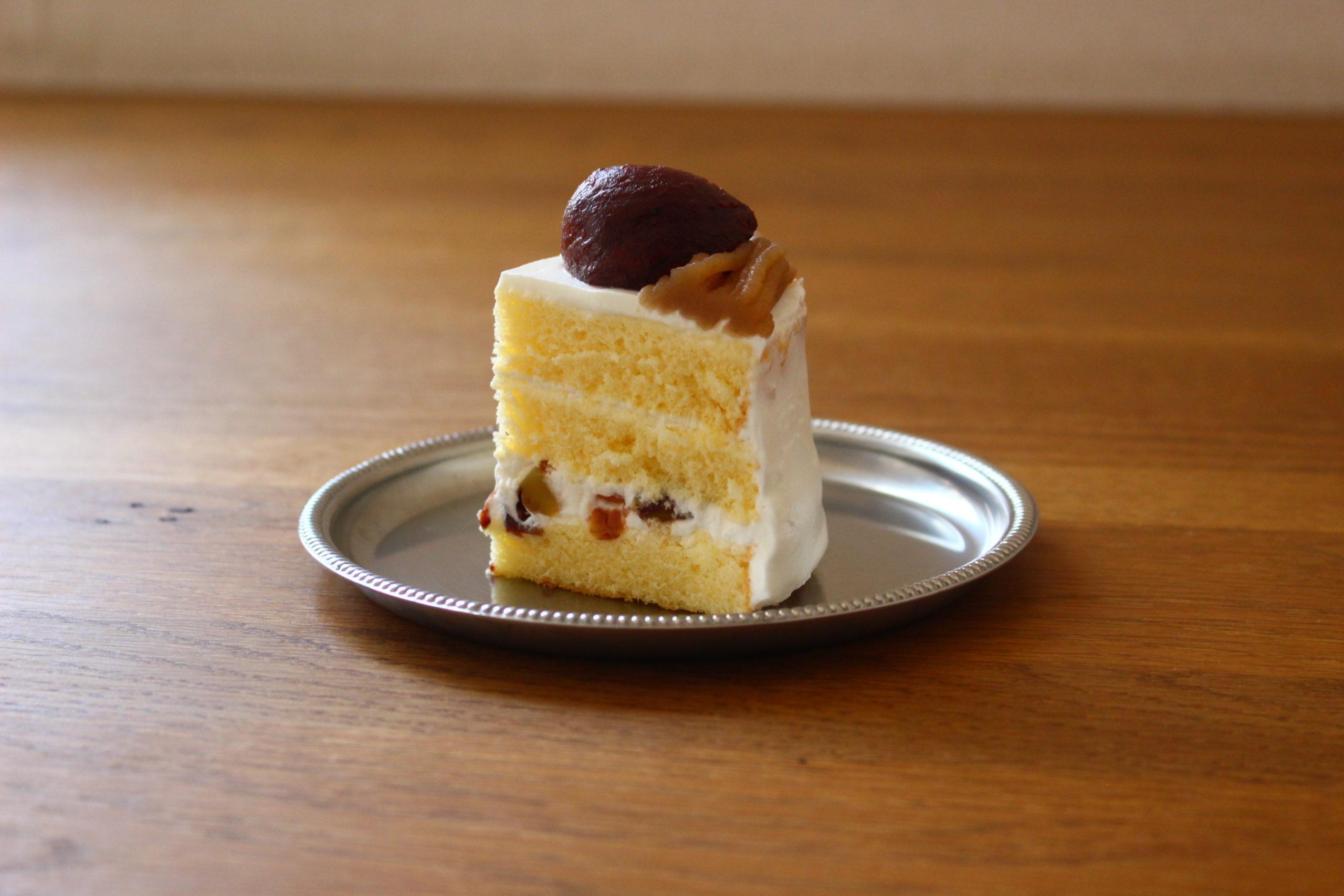 モンブランショートケーキ