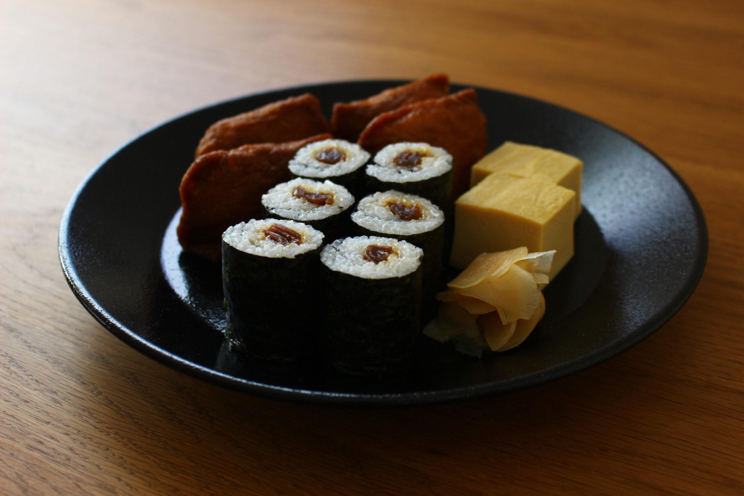 かんぴょう巻きといなり寿司