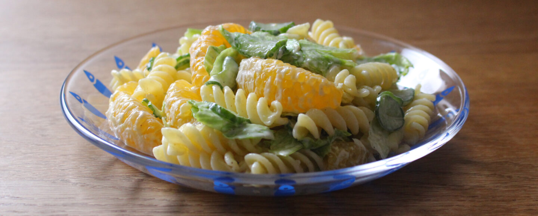 みかんと野菜のマカロニサラダ