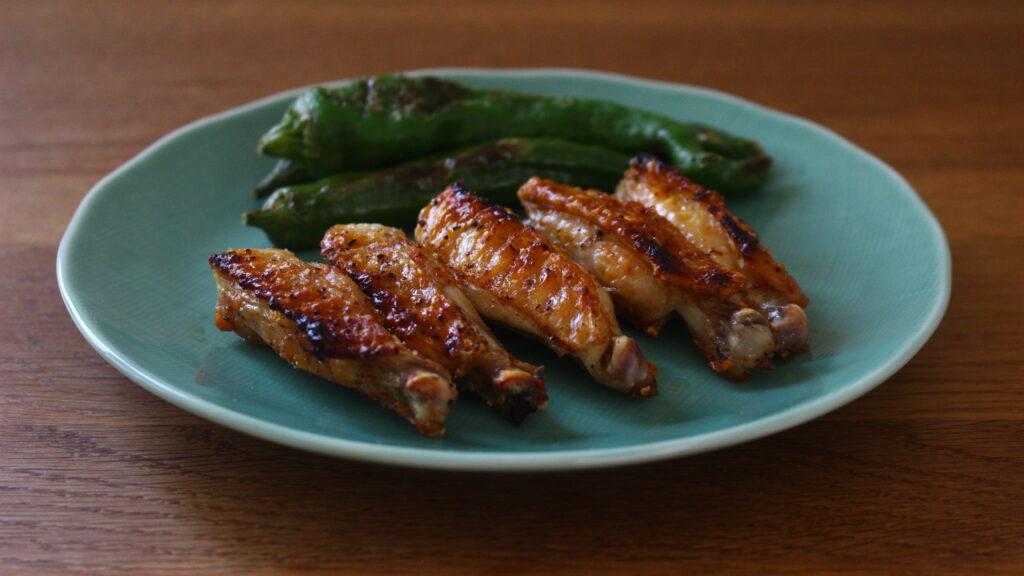 鶏スペアリブの塩焼き