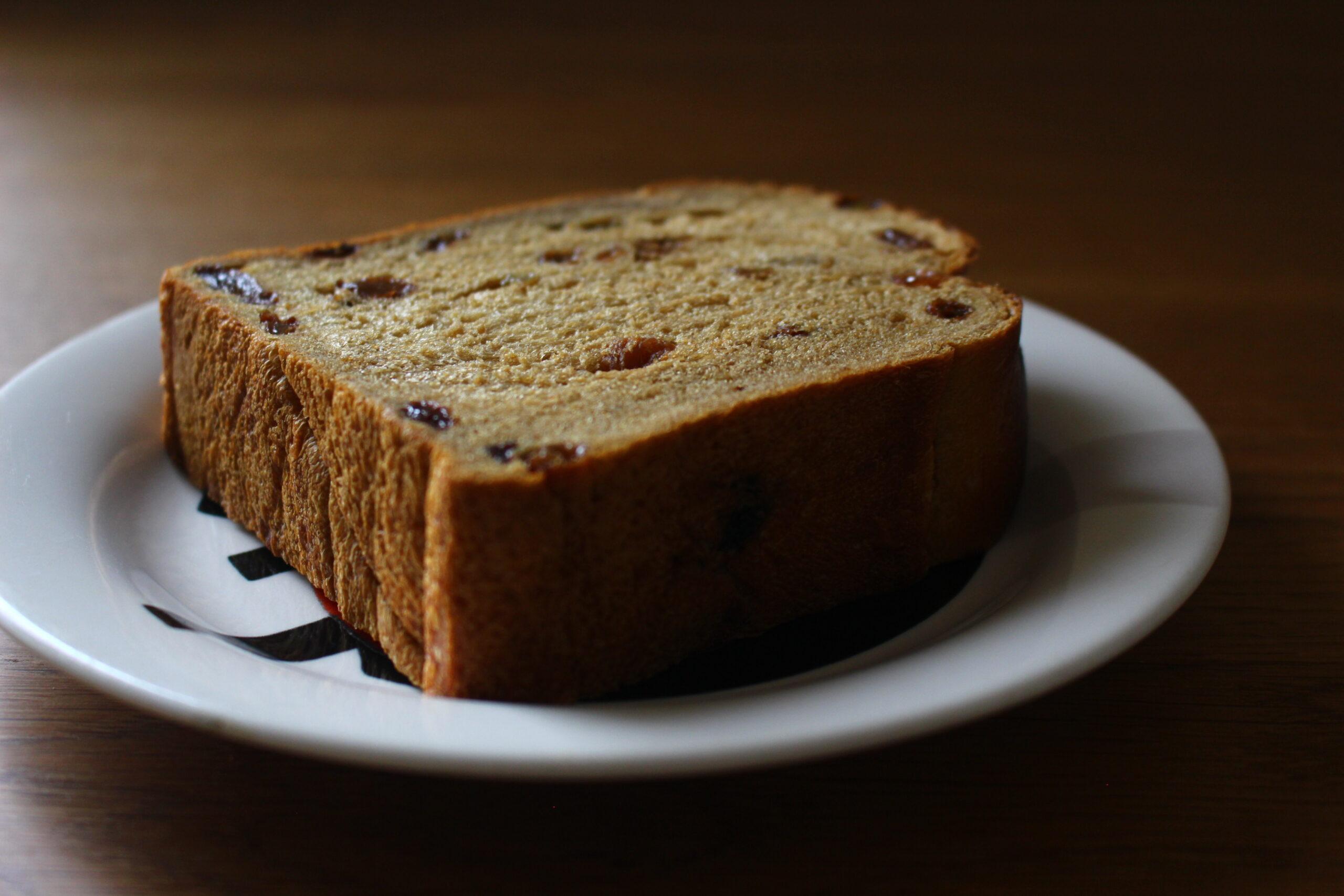 モラセスぶどう食パン