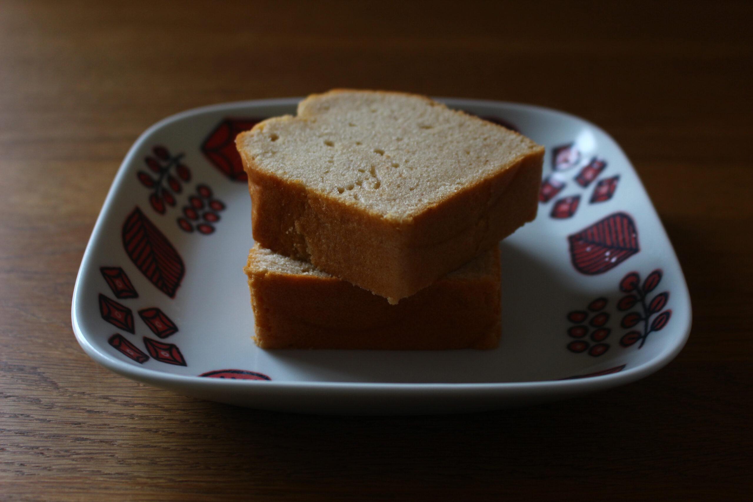 金時豆のあんこケーキ