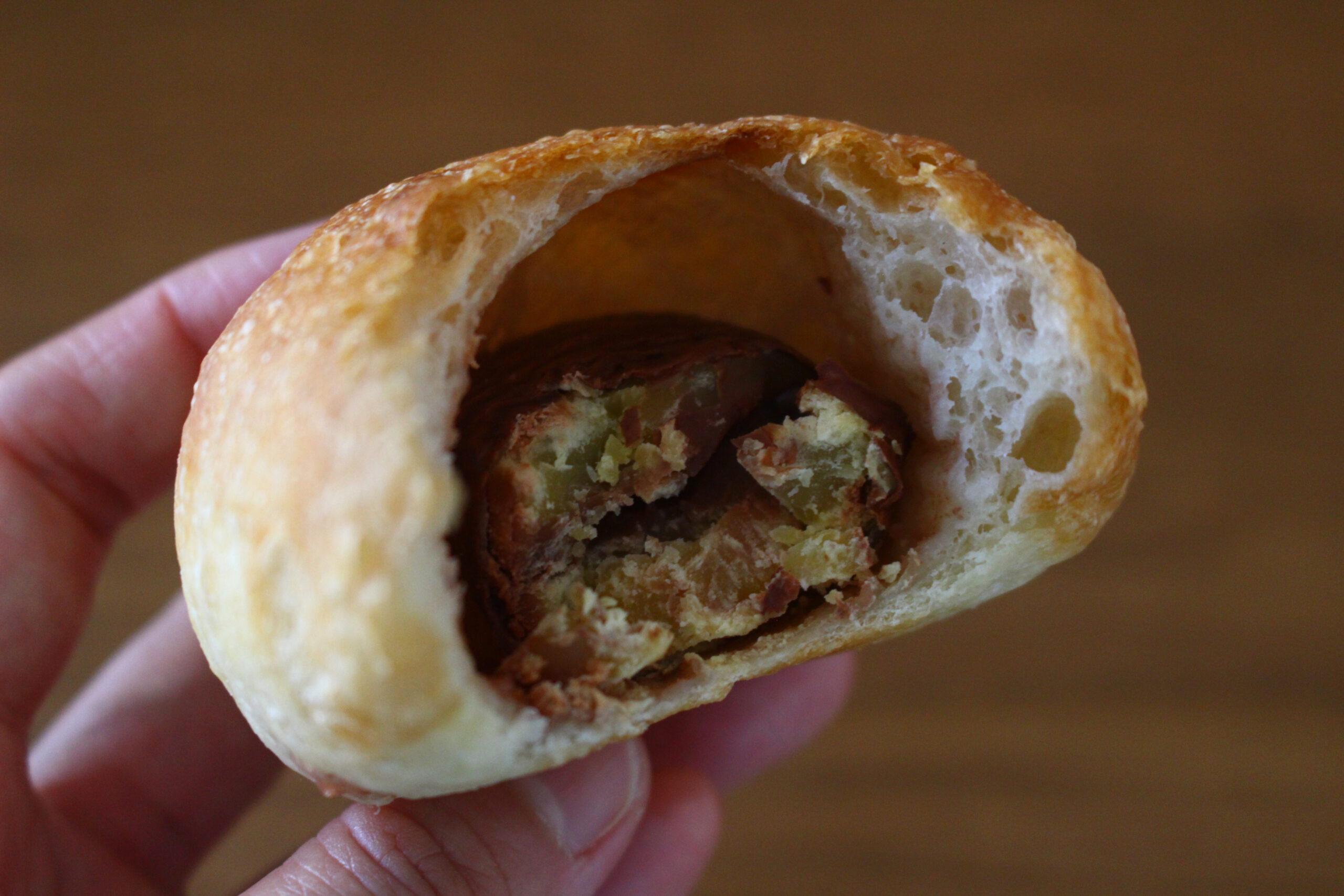 栗の渋皮煮のパン