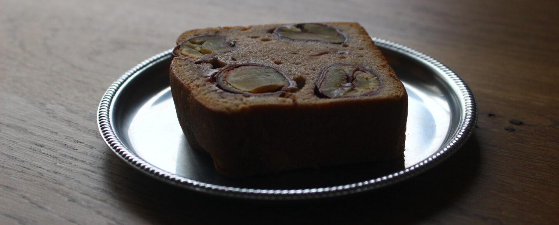 栗の渋皮煮ケーキ